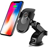 Amkette iGrip Telescopic One Touch Dashboard & Windshield Car Mount for All Mobile Phones (Black)