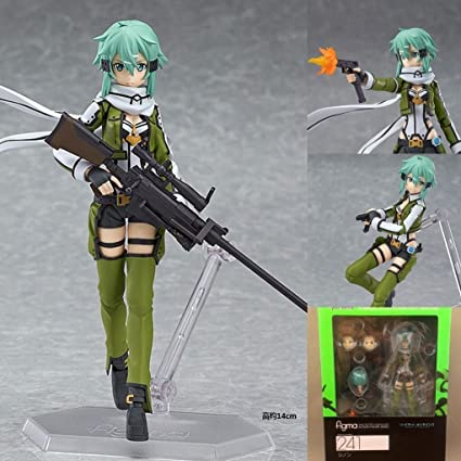 Amazon.com: Asada Shino 5.9 inch Kirigaya Suguha Sword Art ...