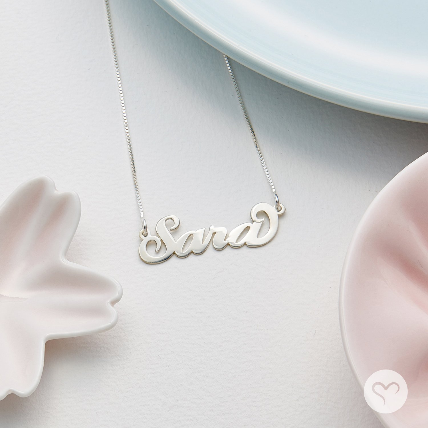 Personalized Name Necklace - Necklace with Name Pendant Custom Made - Gift For Her by My Name Necklace (Image #2)