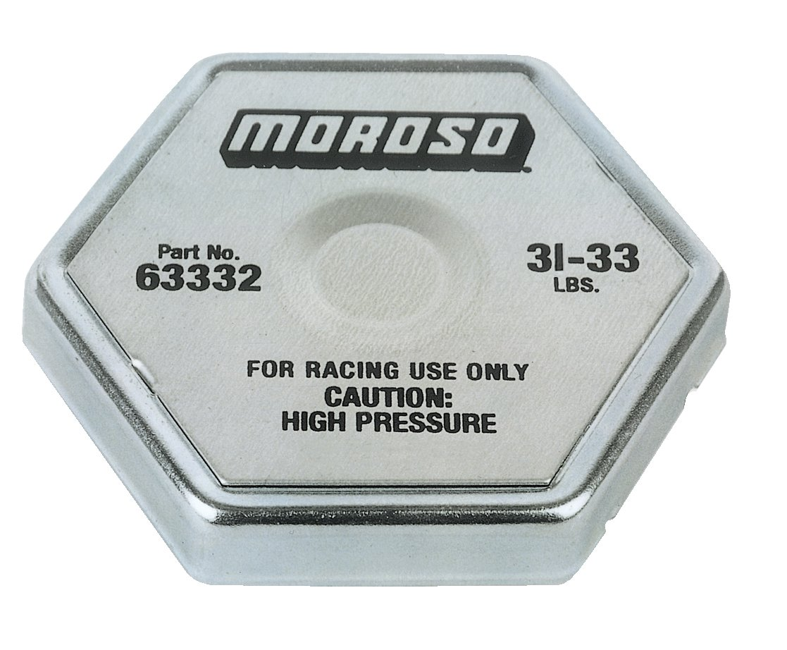 Moroso 63332 32 lbs. Radiator Cap