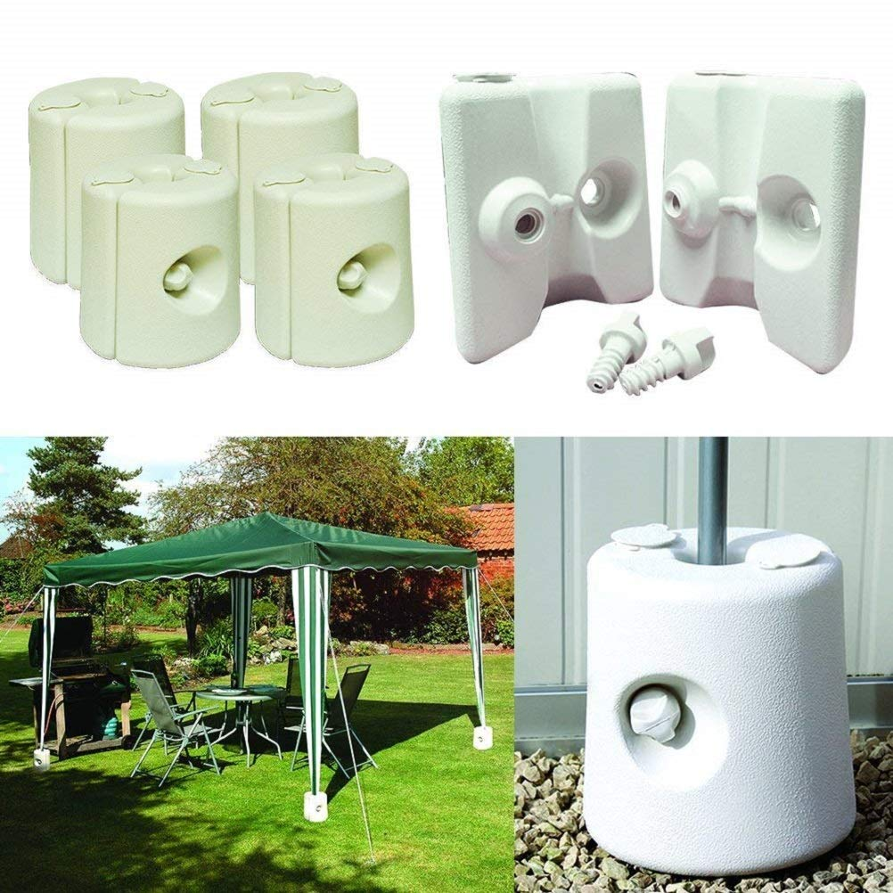 Kingfisher Gazebo Foot Leg Pole Anchor Weights (Pack of 4)