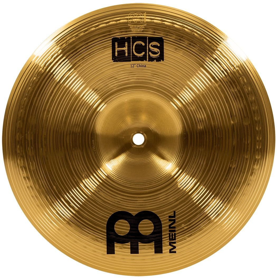 Meinl 12'' China Cymbal - HCS Traditional Finish Brass for Drum Set, Made In Germany, 2-YEAR WARRANTY (HCS12CH) by Meinl Cymbals