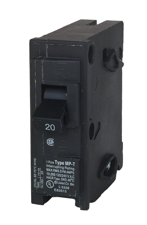 MP120 20-Amp Single Pole Type MP-T Circuit Breaker Murray HH-10313435
