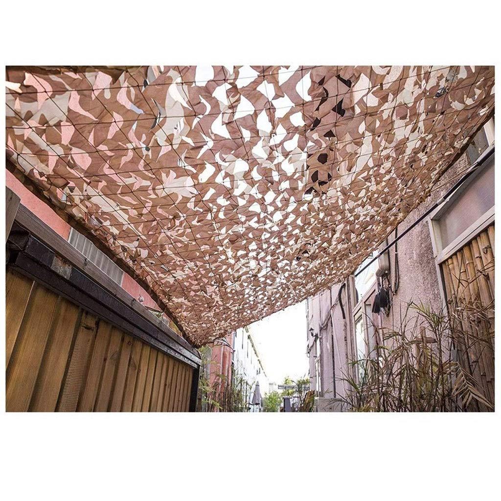 55M(16.416.4ft) Auvent De Filet De Camouflage Du Désert 2x3m Décoration De Jardin De Prougeection De Jardin En Plein Air De Prougeection De Tente De Prougeection Solaire Tente De Prougeection Solaire De Voiture De Camouflage