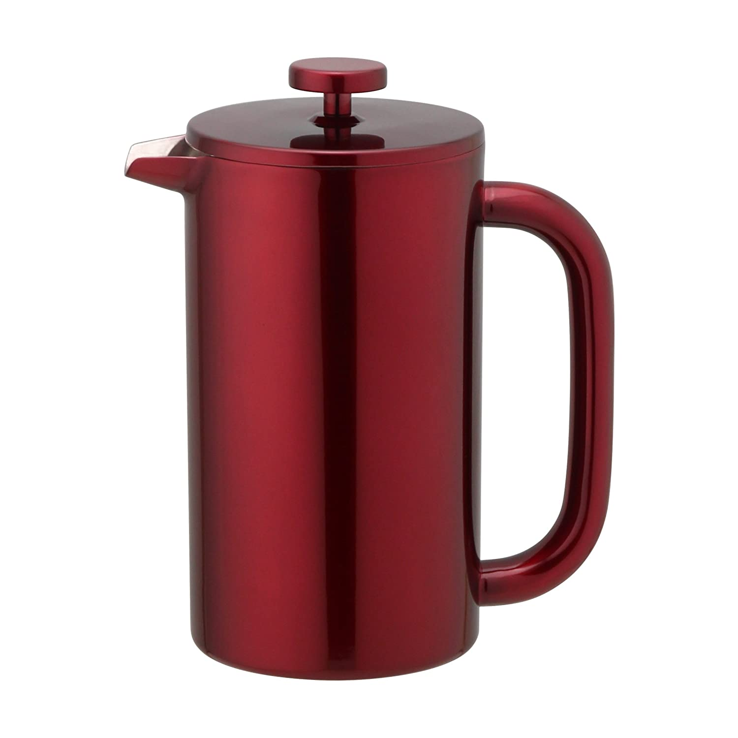 210911f5dbb7 Amazon.com  Highwin French Press - Double Wall Insulated Stainless Steel Coffee  Press Maker Plunger (Red)  Kitchen   Dining