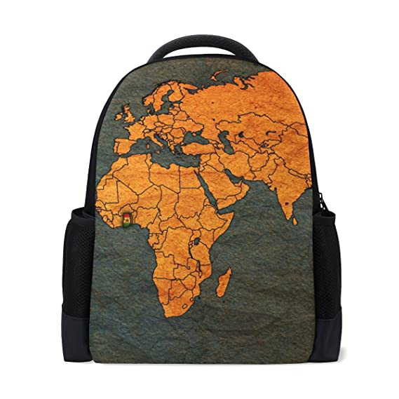 Bennigiry world map school backpack for girls boys for middle school bennigiry world map school backpack for girls boys for middle school bookbag for kids outdoor daypack gumiabroncs Image collections