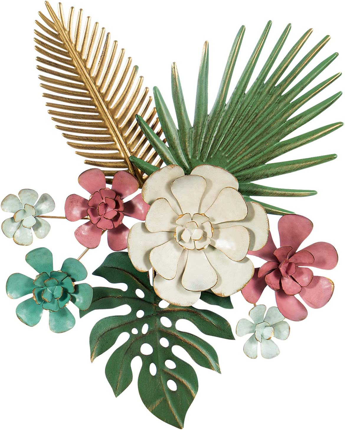 hot limited edition Metal Flower Wall Decor, Multiple Layer Metal ...