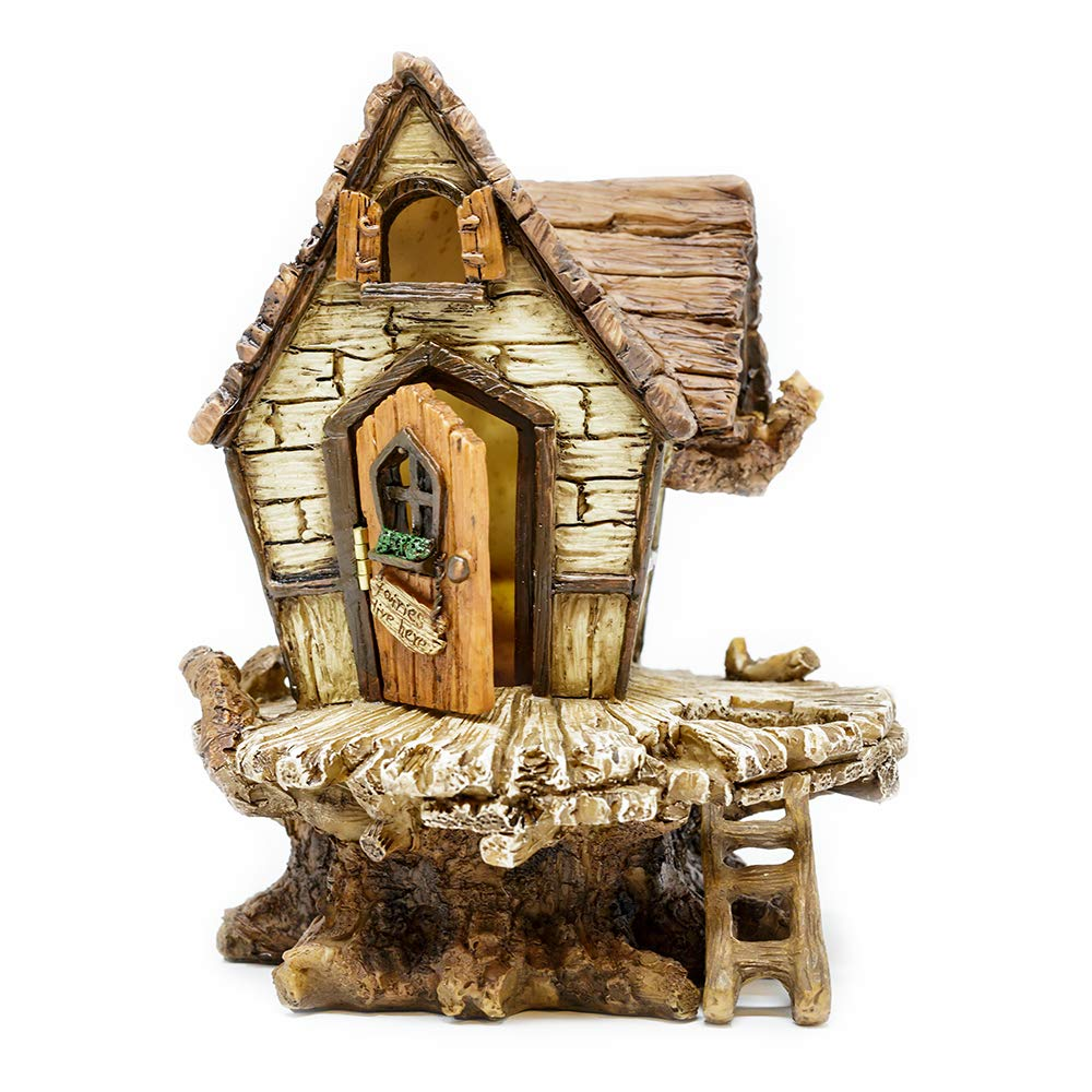 Miniature Fairy Garden Fairy Fort With Ladder