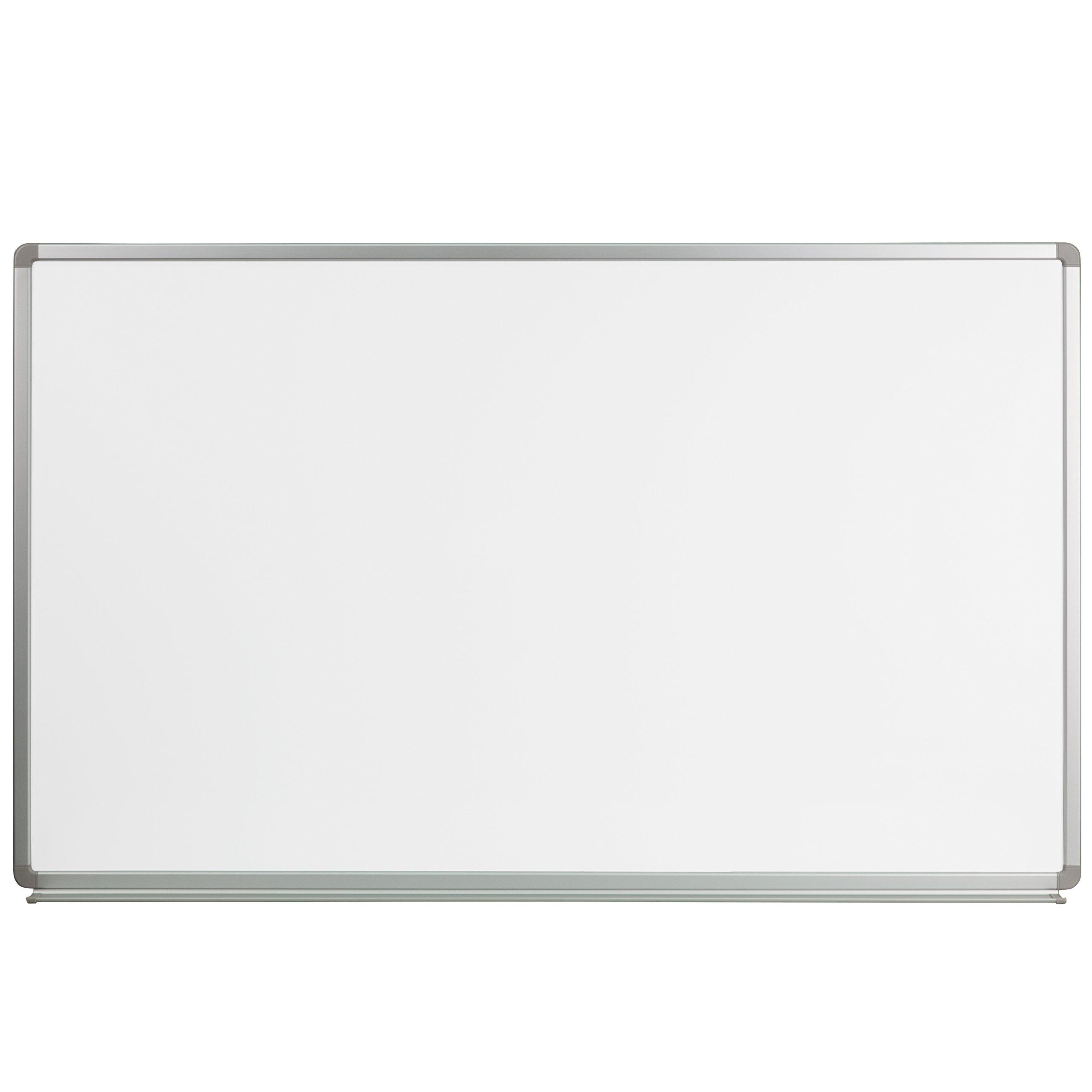 Flash Furniture 5' W x 3' H Magnetic Marker Board by Flash Furniture