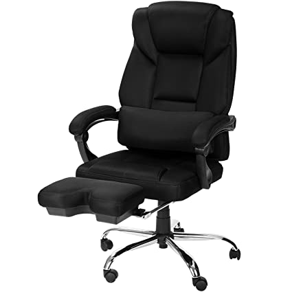 Merax High Back Ergonomic Mesh Office Chair Napping Chair Recliner With  Footrest (High Back 10