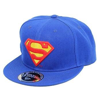 Superman DC Comics Classic Logo Hombre Snapback Cap: Amazon.es: Deportes y aire libre