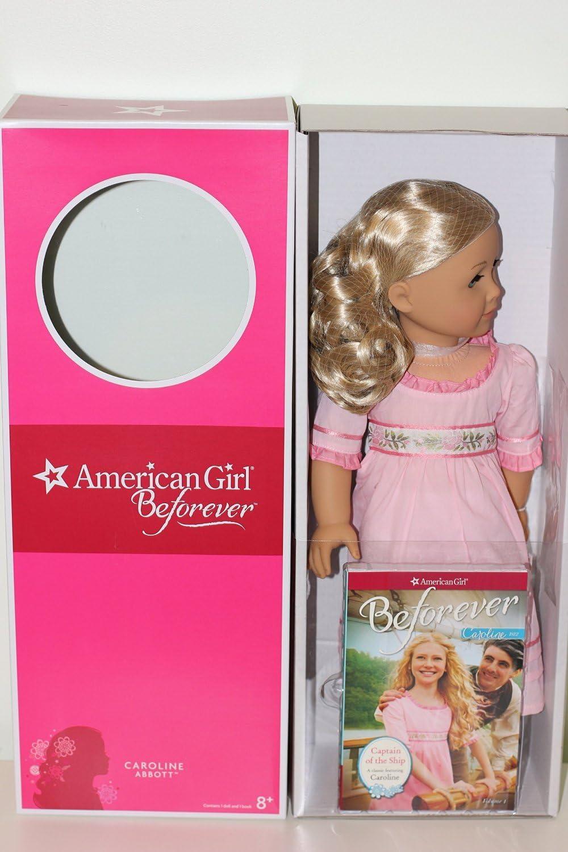 American Girl Doll Caroline pink dress