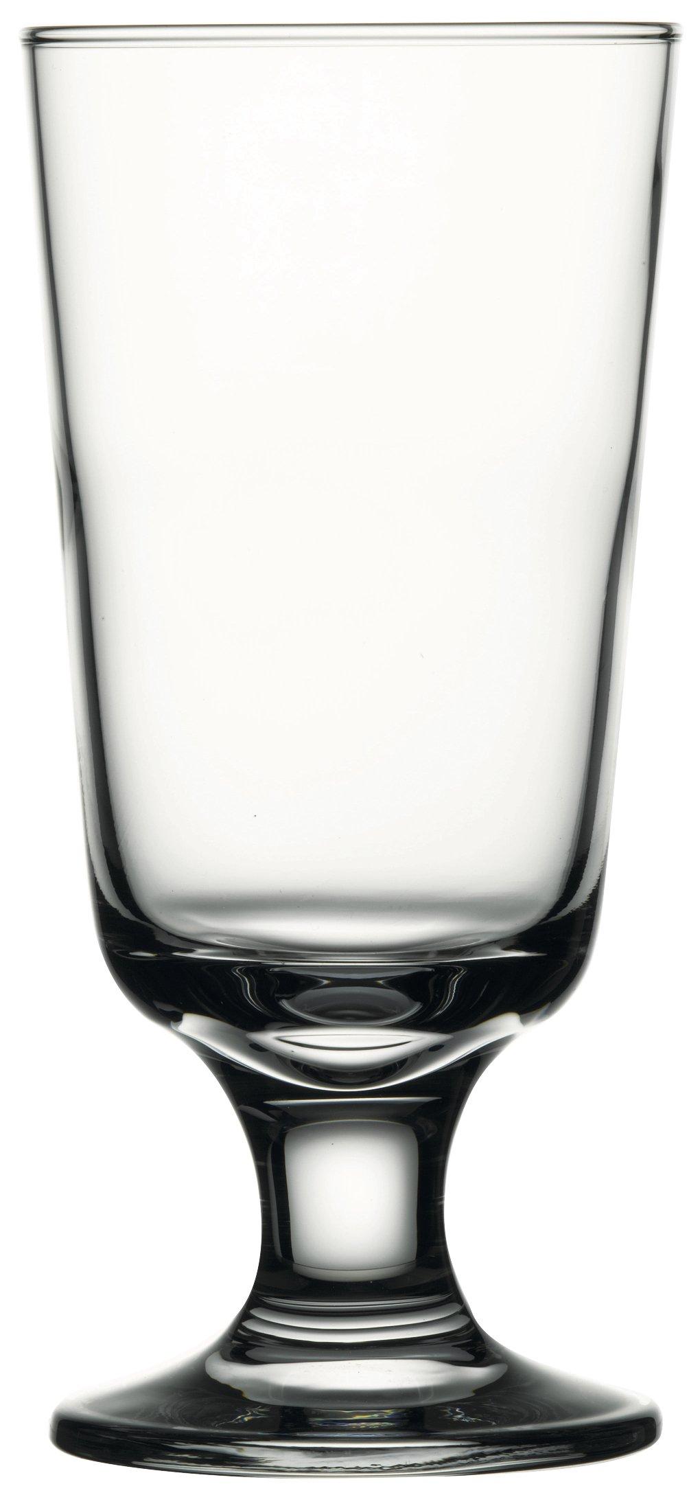 Hospitality Glass Brands 44912-048 Capri 10 oz. Taverna Footed Hi-Ball (Pack of 48)