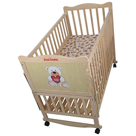 buy just born baby cozy wooden cot online at low prices in india