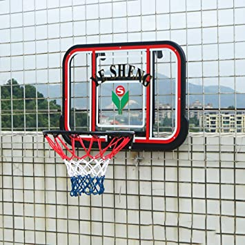 SONGYU Montado En La Pared Aro De Baloncesto Tablero Altura ...
