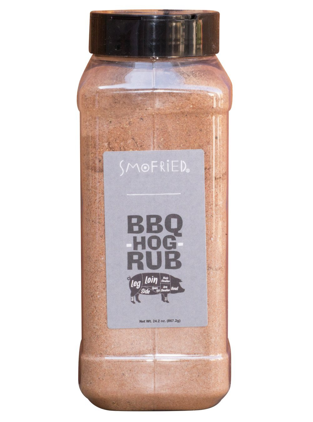 Smofried BBQ Hog Rub - 24.2 Ounces by Smofried (Image #1)