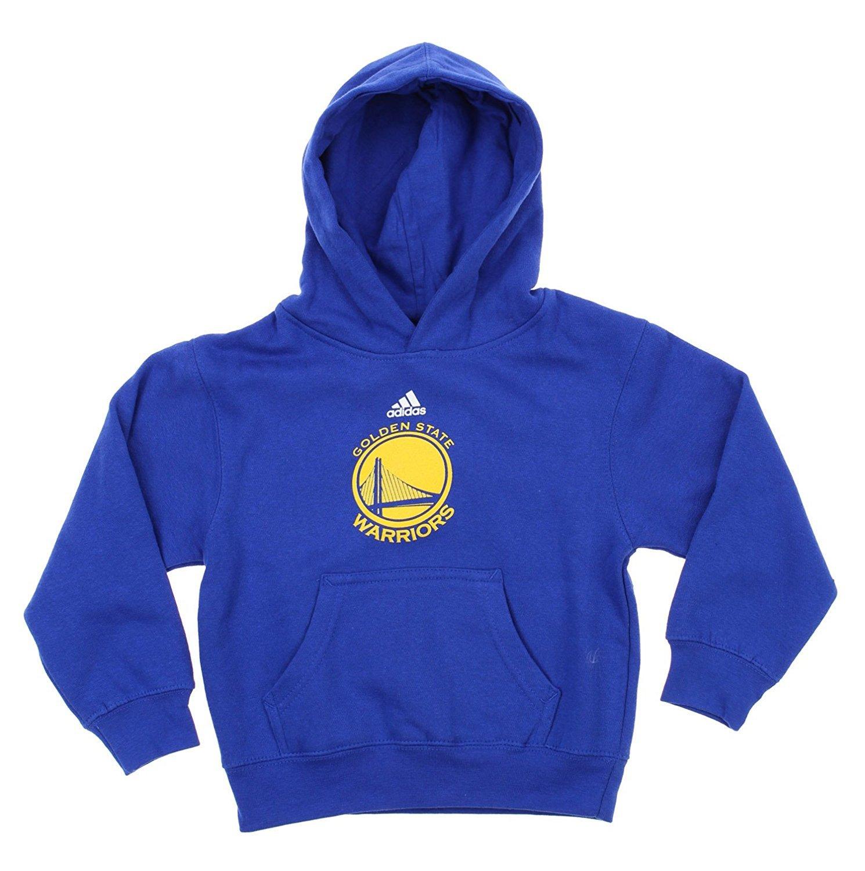 Golden State Warriors Nba Little Boys Toddlersチームロゴプルオーバーパーカー、ブルー Medium (5-6) ブルー B06XH3BTK6