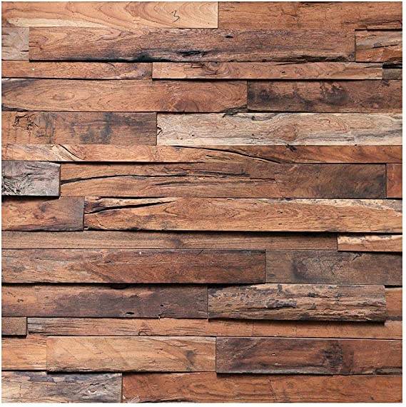 Akaddy Retro Wood Photography Backdrops Studio Video Photo Background Decor Yy18 Küche Haushalt