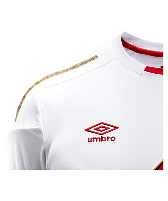 Umbro 2018-2019 Peru Home Football Shirt: Amazon.es: Deportes y aire libre