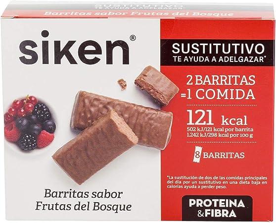 SIKEN SUSTITUTIVO - Barritas Sustitutivas, Sabor frutos del ...