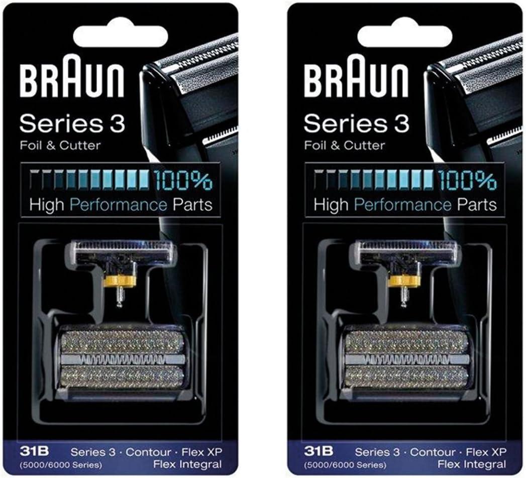 Braun Cortador Y 31B Serie 5000/6000 Contorno Flex Xp Integral ...
