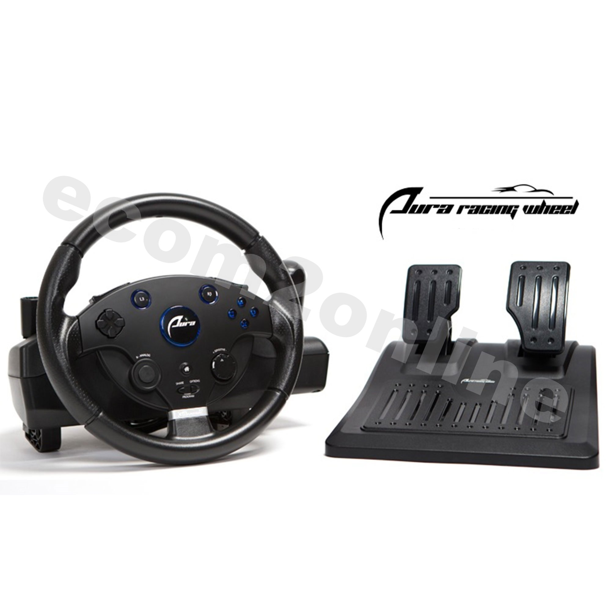 AURA Racing Wheel For PS3, PS4, PC, XBOX