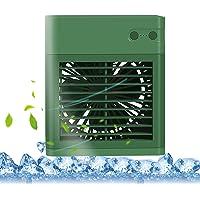 Moochy Refrigerador de ar de mesa Ventilador pessoal pequeno USB Ventilador de mesa silencioso refrigerador de ar…