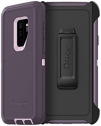 OtterBox Defender Series Case for Samsung Galaxy S9 Plus (ONLY) - Non-Retail Packaging - Purple Nebula