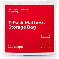 LINENSPA 2-Pack Mattress Bag for Moving and Storage for King/California King Mattresses and Box Springs