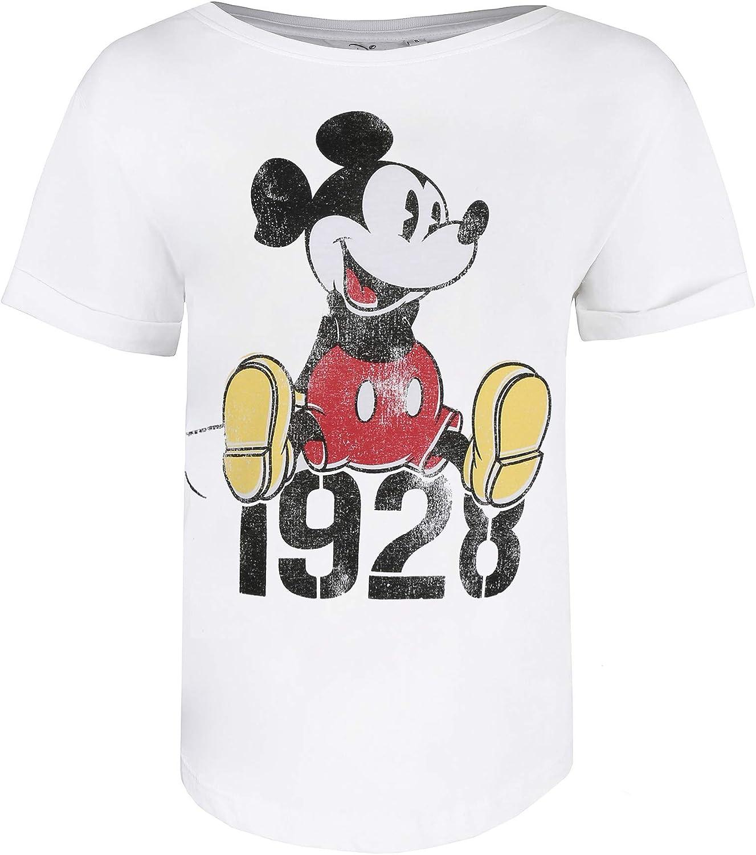 Disney Mickey Year T-Shirt Donna