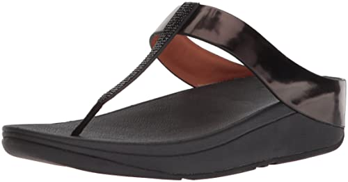 d3bb0ee0c7fe0 Fitflop Women s Fino Crystal Open Toe Sandals  Amazon.co.uk  Shoes ...