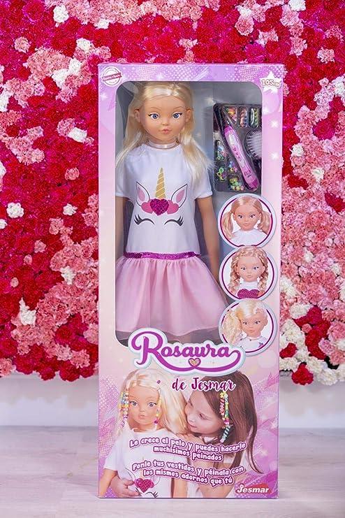 Amazon.es: Falca-MUÑECA Rosaura 105 CM ¡LE Crece EL Pelo, Multicolor (85510): Juguetes y juegos