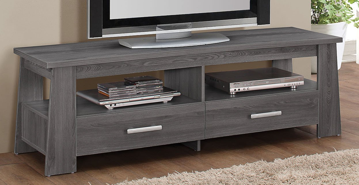 Amazon.com: ACME Furniture 91725 Falan TV Stand, Dark Gray: Kitchen U0026 Dining