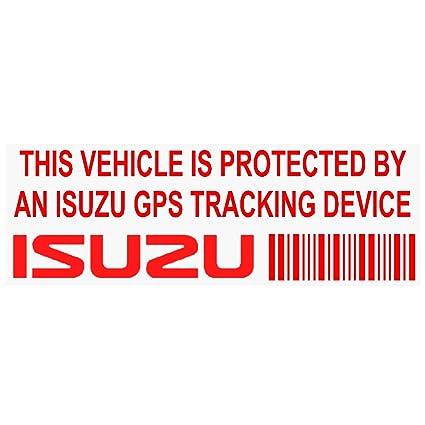5 x ppisuzugpsred rojo camión GPS dispositivo de seguimiento ...