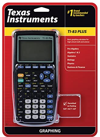 com texas instruments ti plus graphing calculator texas instruments ti 83 plus graphing calculator