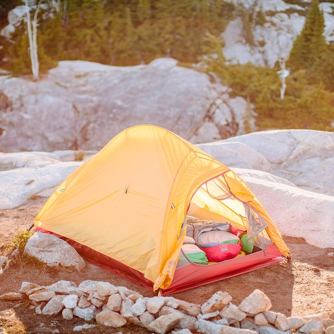 Bryce 2P Two Person Ultralight Tent and Footprint - Perfect for Backpacking, Kayaking, Camping and Bikepacking by Paria Outdoor Products (Image #2)
