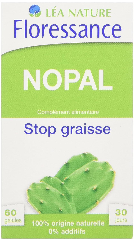 8088eeed56 Floressance Phytothérapie Minceur Nopal Stop Graisse 60 Gélules Lot de 3:  Amazon.fr: HygiÚne et Soins du corps