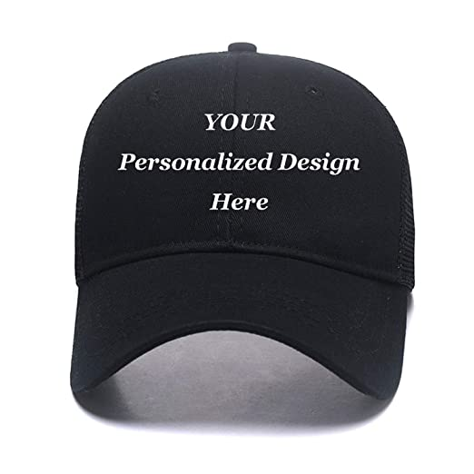 2eeb01c719134 Amazon.com  Custom Mesh Trucker Hat Fashion High Ponytail Hat for ...