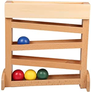 LEADER JOY Montessori Ball Tracker Baby Wooden Toys for 1-3 Year Old