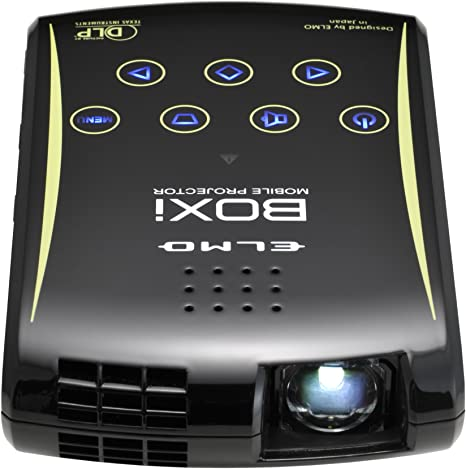 ELMO Boxi T-200 Ultra Portable Projector (Resolución de 150 ...