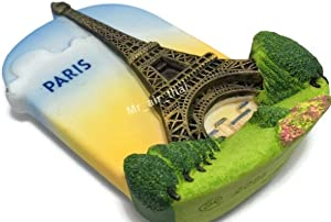 Paris Eiffel Tower Paris France Souvenir Collection 3D Fridge Refrigerator Magnet wall
