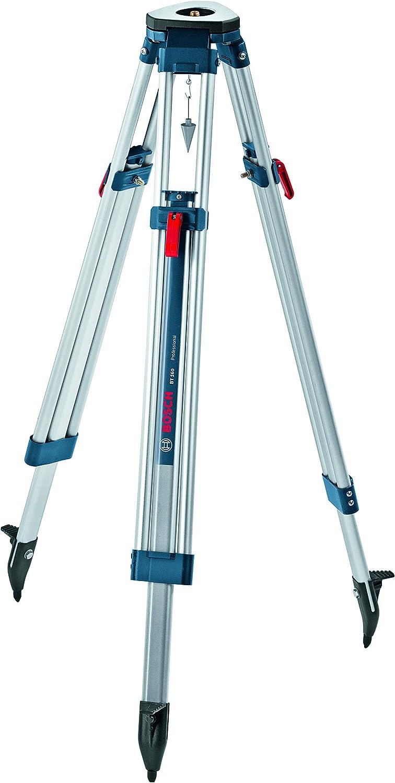 Bosch Professional BT 160 - Trípode para nivel láser y óptico (160 cm, rosca 5/8