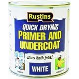 Rustins 500ml Quick Dry Primer Undercoat - White