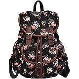 Douguyan Lightweight Backpack for Teen Young Girls Cute Backpack Print Rucksack