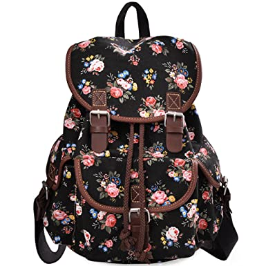 Amazon.com | Douguyan Lightweight Backpack for Teen Young Girls ...