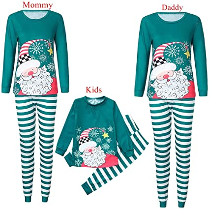 98d3db565f Amazon.com  WensLTD Family Pajama Set