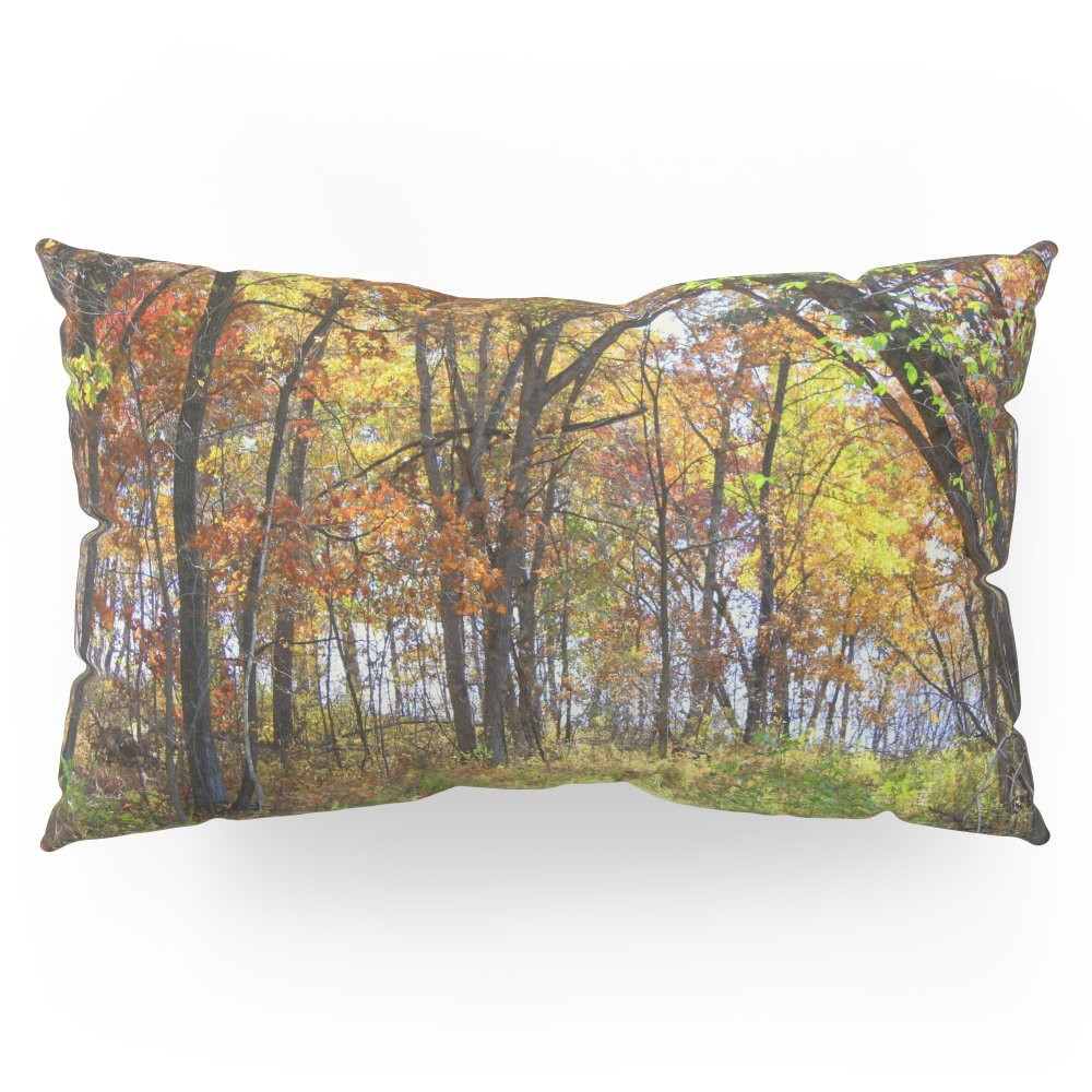 Society6 Autumn Woods Pillow Sham King (20'' x 36'') Set of 2