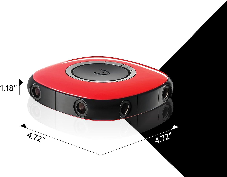 Vuze 3d 360 Degree 4k Vr Camera Red Camera Photo