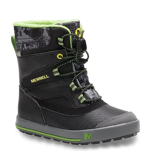 79034742 Merrell Boys Snow Bank 2.0 WTRPF Waterproof Snow Boot (Toddler/Little  Kid/Big Kid)