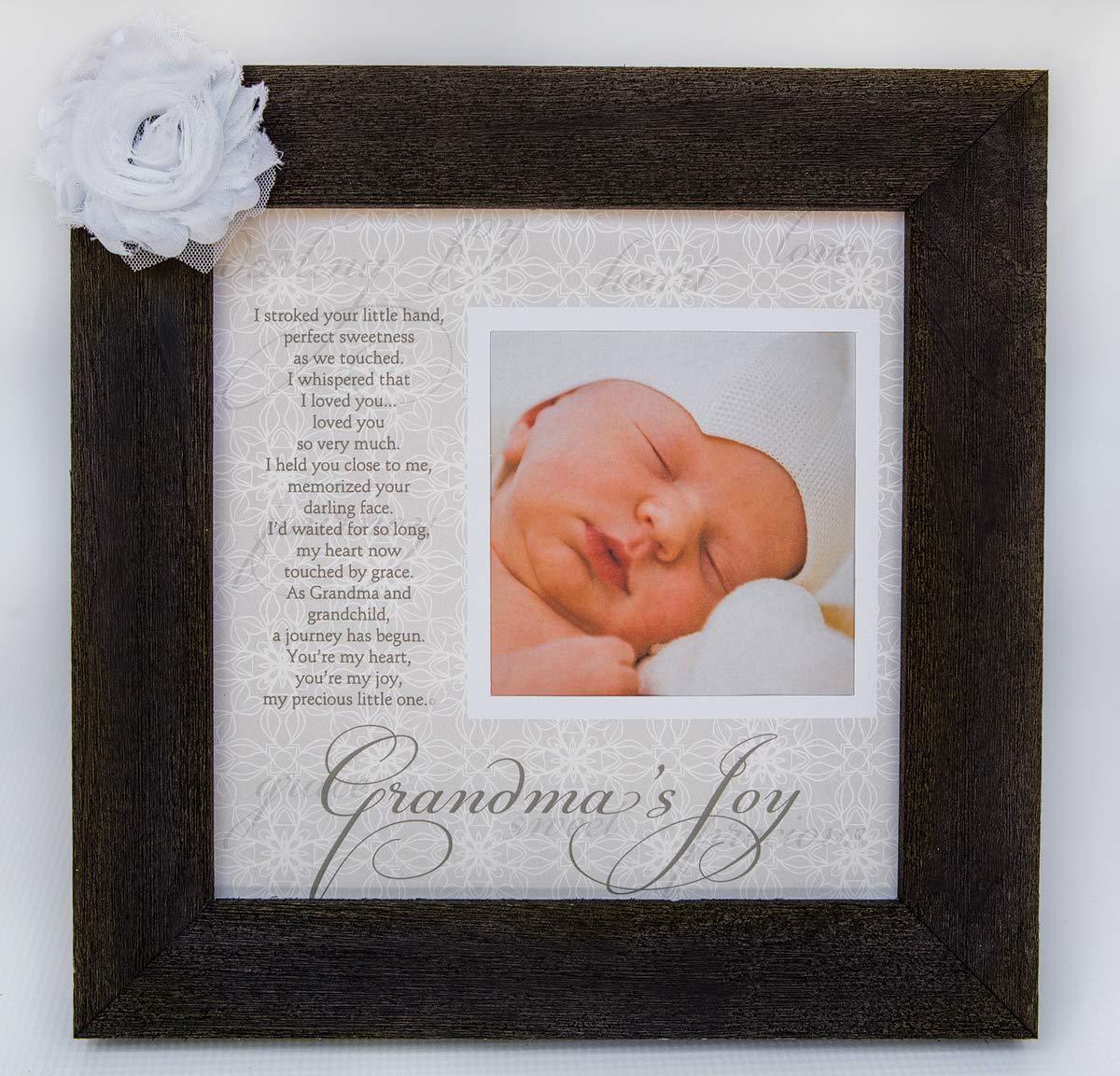 Amazon.com: Grandma\'s Joy Picture Frame with Poetry - Barnwood: Baby
